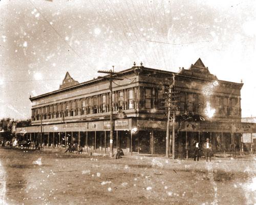 Brooks Building circa 1900