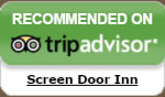 Screen Door Inn Recommended on TripAdvisor
